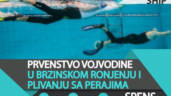 Otvoreno prvenstvo Vojvodine u brzinskom ronjenju i plivanju perajima 18.11.2017