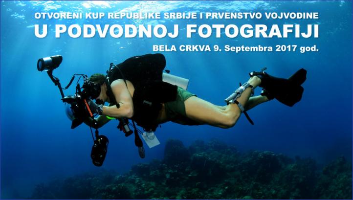 Podvodna fotografija - Bela Crkva 2017