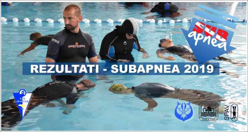 Izveštaj sa takmičenja - SUBAPNEA 2019 - Subotica, 11-12.05.2019