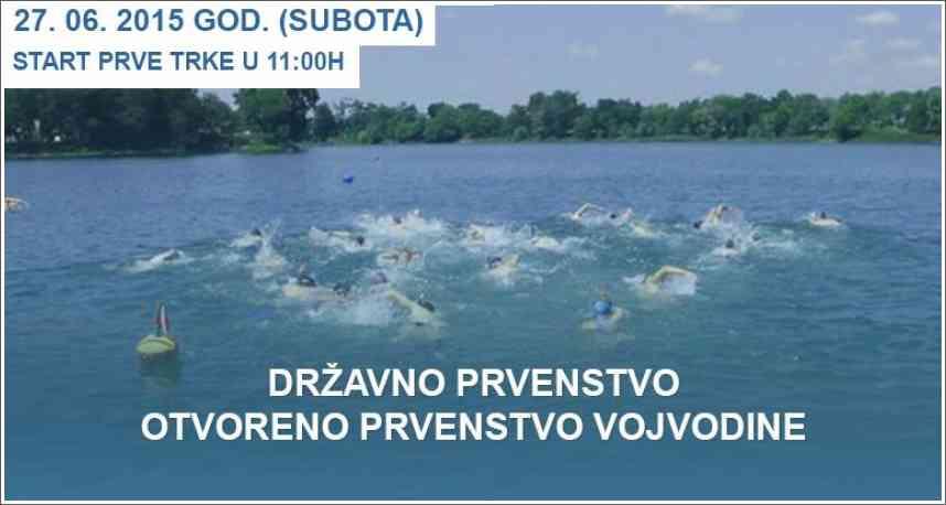Trinaesti plivački Vidovdanski maraton sa perajima - 27.06.2015