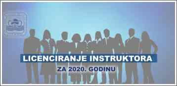 Licenciranje instruktora za 2020. godinu
