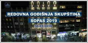 Redovna godišnja Skupština - SOPAS 2019
