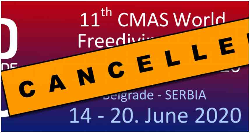 Odgađa se Indoor Freediving World Championship u Beogradu, 14.-20.06.2020.