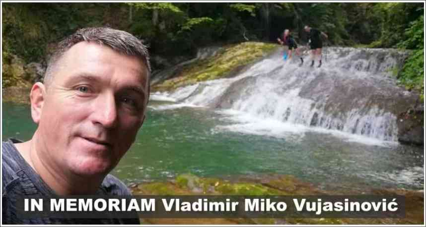 IN MEMORIAM Vladimir Miko Vujasinović