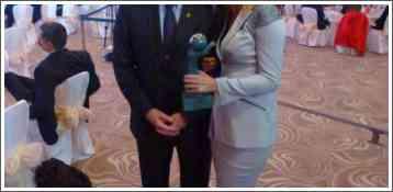 Predsednica SOPAS-a Božana Ostojić sa Predsednikom Komisije Sport Environment pri MOK-u Palom Schmitom